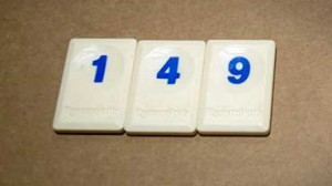 Rummikub as a maths game
