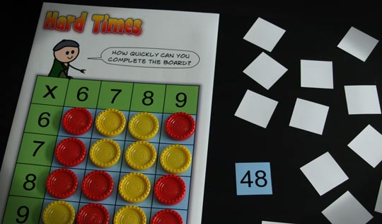 A Times Tables Teaching Game