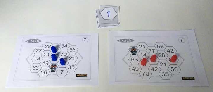 Times Tables Hex Game | mathsticks.com