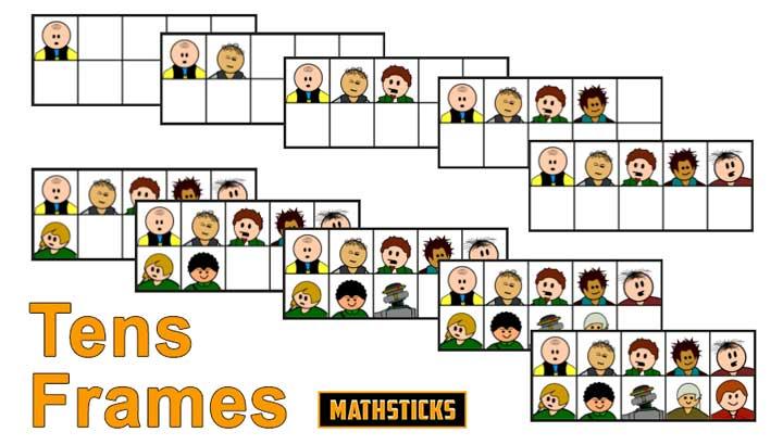 Tens Frames | mathsticks.com