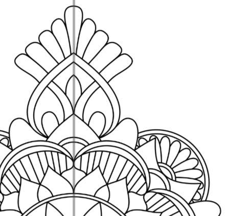 40 Symmetrical Colouring Patterns Mathsticks Com